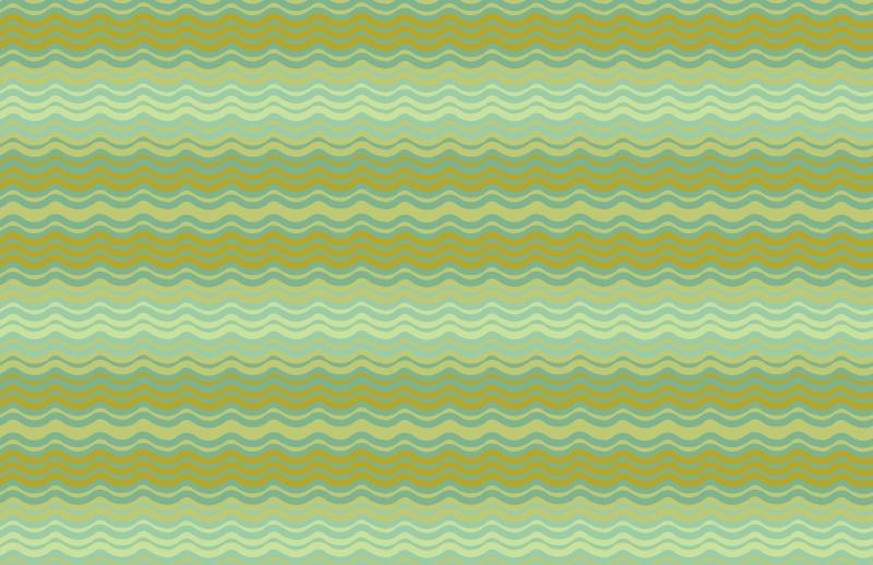 green background pattern, wavy pattern