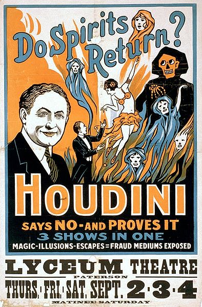 harry houdini vintage poster | old art