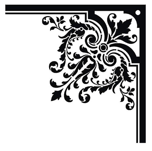border, borders, damask, baroque, free, graphic design, vectors free, vectors for free, free vectors