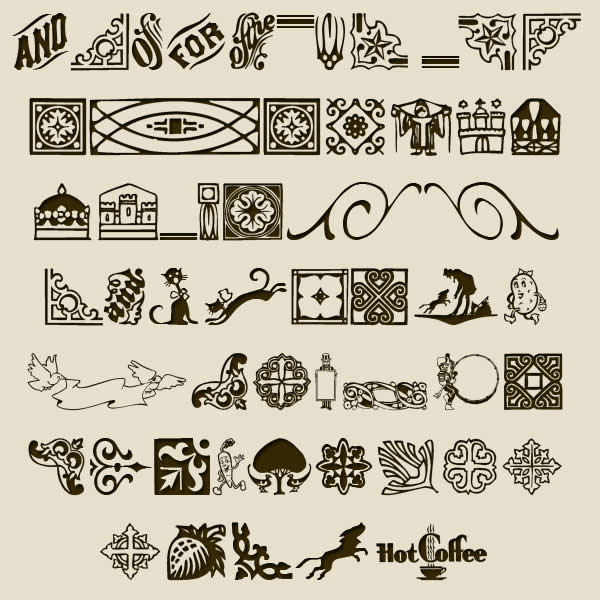 Irresistible Free Dingbat Fonts
