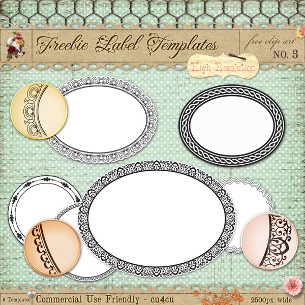label frame template - photo #35