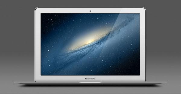 free apple macbook air psd, free macbook psd, free apple psd,