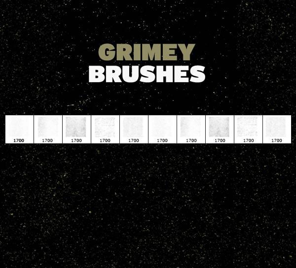 free grunge brushes, free brushes, free photoshop brushes, free gimp brushes,
