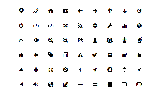 free fonts, free symbol fonts, free symbols, icon font, icon fonts, free font, free icons, ui icons, pixel icons
