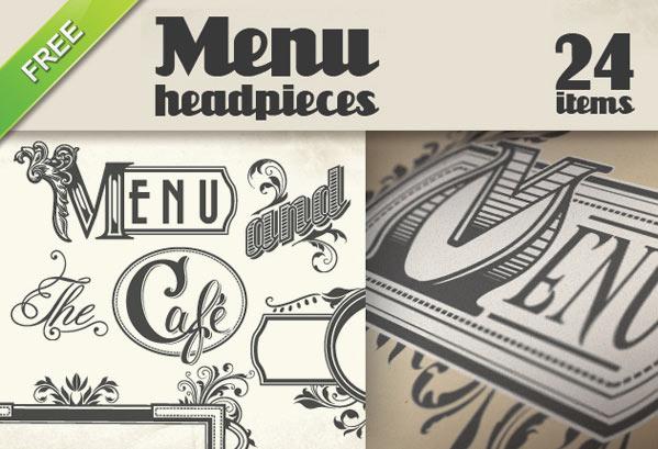 free vector for restaurant, free menu vector, vectors for designing a menu, menu design, free vector, free vectors
