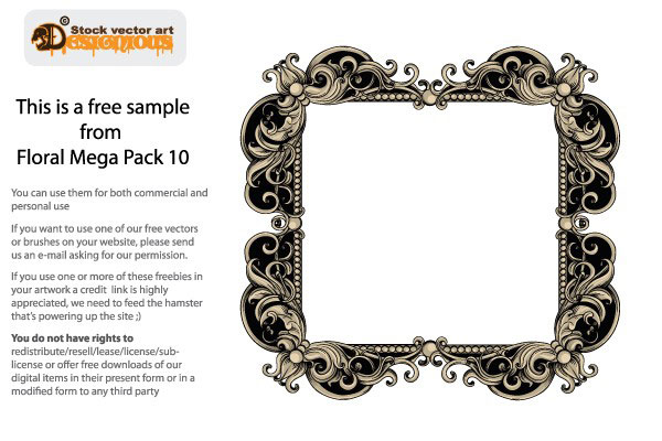 Free Ornate Decorative Frame