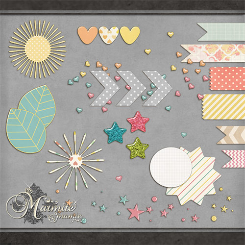 free digital scrapbooking elements