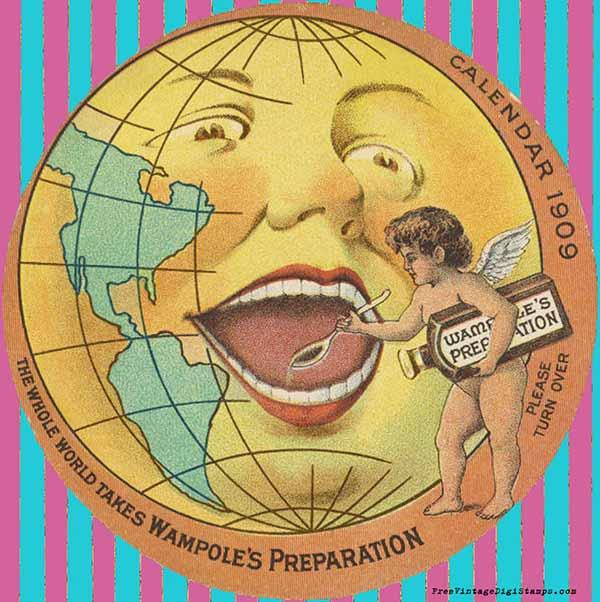 vintage ephemera, vintage printable, vintage globe