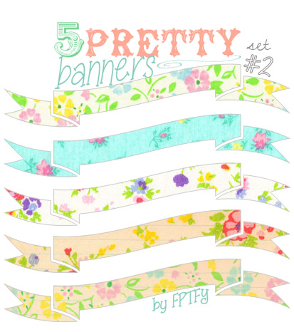 cute blog banners