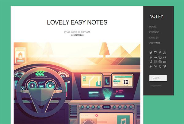 Modern Design Blog 18 modern & polished blogger templates you shouldn't miss