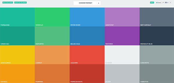 flat design, flat ui, flat ui design, web design