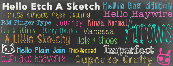 20 Free Adorable Handwriting Fonts From The Ttf Gallery