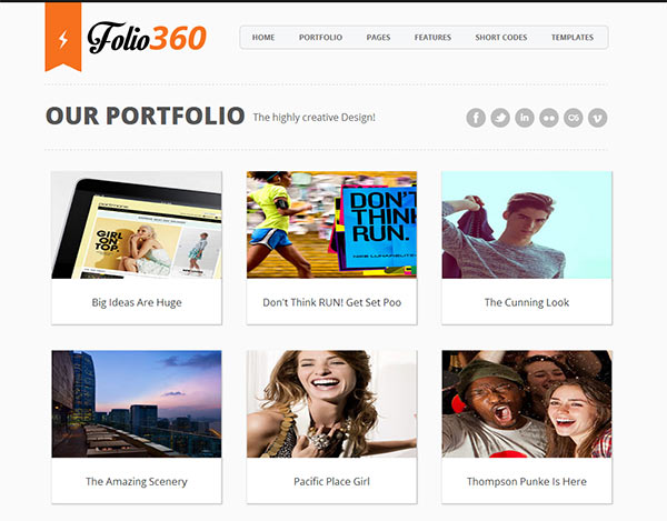 Portfolio Blogger Templates 18 Modern & Polished Blogger Templates You Shouldn't Miss ...