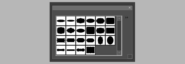 custom shapes, photoshop shapes, label shapes, label frames, free labels