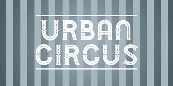 chank diesel, circus font, circus fonts, urban circus,