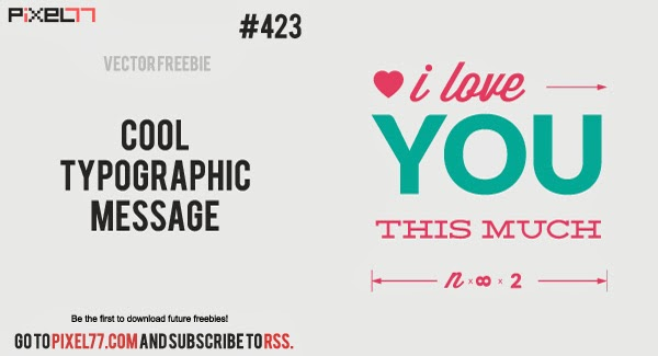 Free Typography Poster Vector