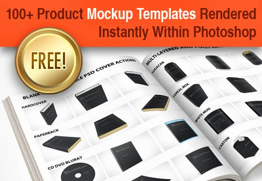 free photoshop action, free photoshop actions, design freebies, product mockup, mug psd mockup, dvd mockup, cd mockup, free book cover mockup, free cereal box mockup, free mug design mockup,