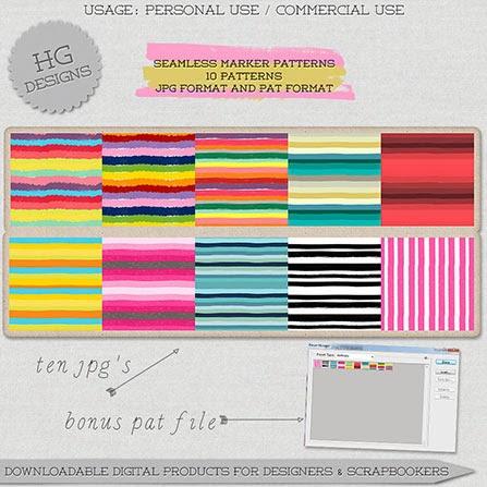 free photoshop patterns, striped patterns, rainbow patterns, stripe backgrounds, striped background