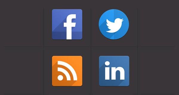 social icons, flat icons, free icons psd, free psd, free social icons