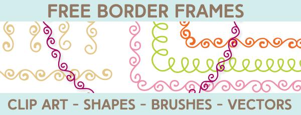 Free Borders and Frames Kit | Starsunflower Studio Blog