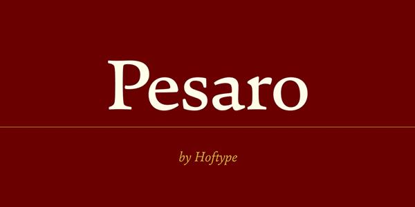 free font, free fonts, free font pesaro