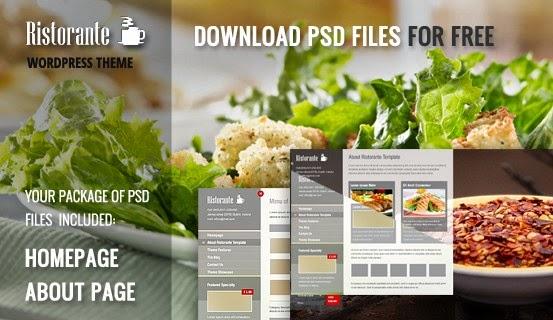 restaurant website template psd, restaurant psd template,