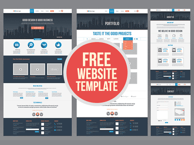 Website Mockup Photoshop Template. 50 free branding identity ...