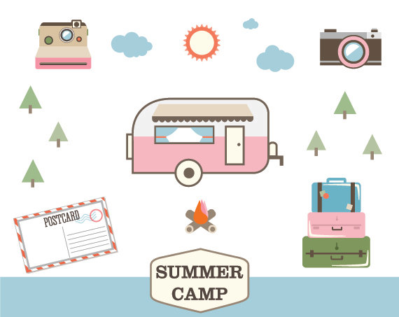 summer_camp_vintage_camper_clip_art_