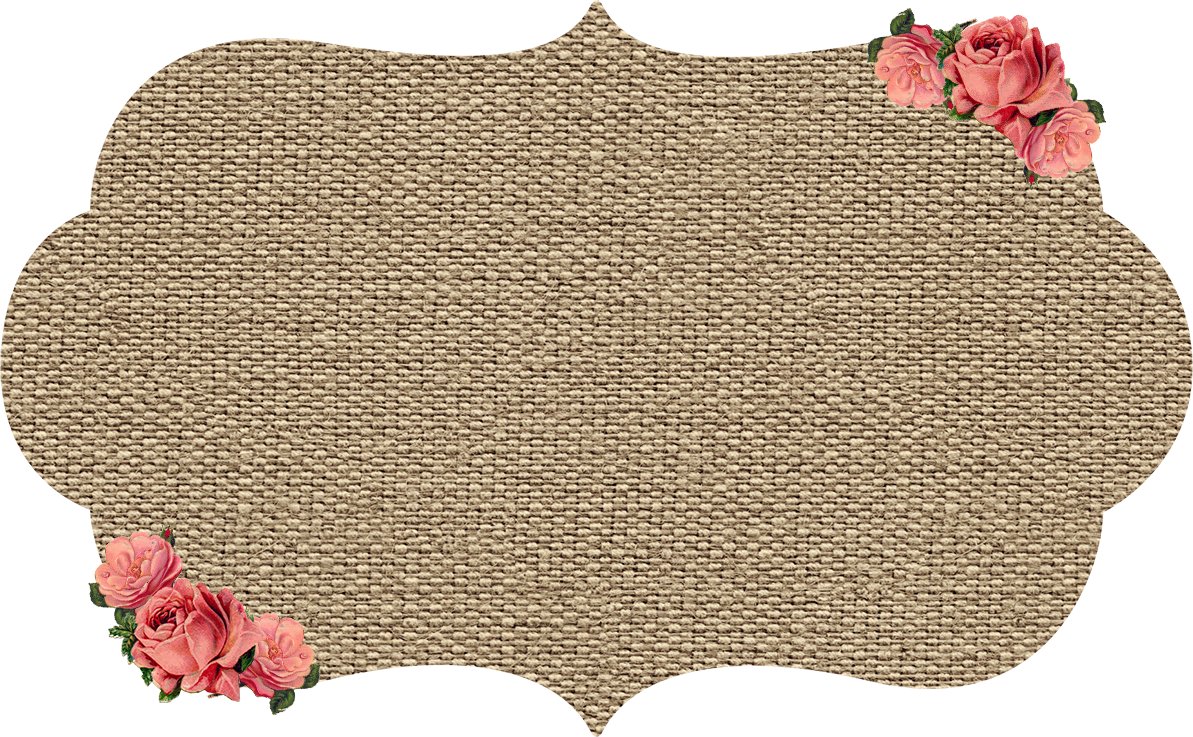 My Gift To You Burlap Amp Kraft Shabby Frames Clip Art With