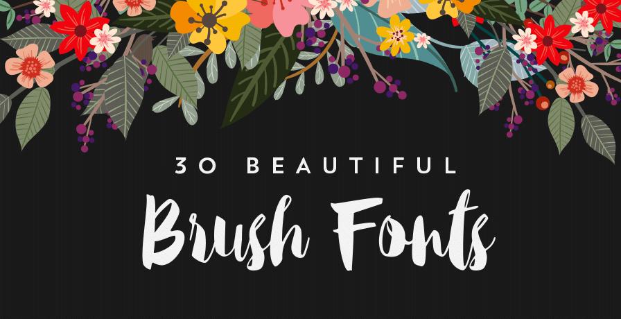 30 delightful brush script fonts starsunflower studio blog