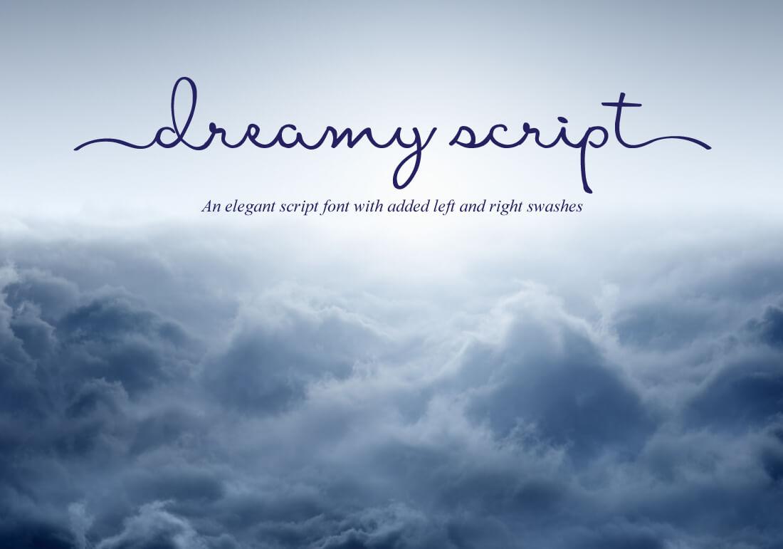 dreamy script
